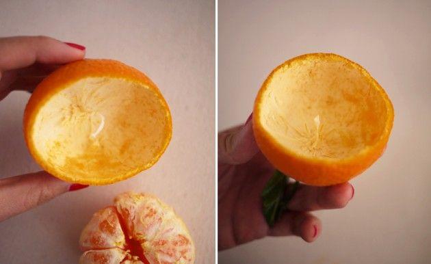 Faça uma vela com casca de laranja ponkan | Dicas de Decoração | Blog de Decoração LojasKD