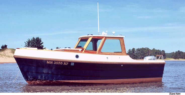 Bay Pilot 18 Wooden Boat Plans from Arch Davis Designs ...