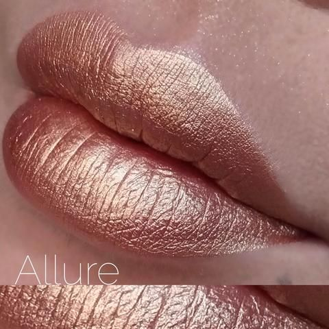 JD glow cosmetics has a few Metallic Liquid Lipsticks ($15.00)