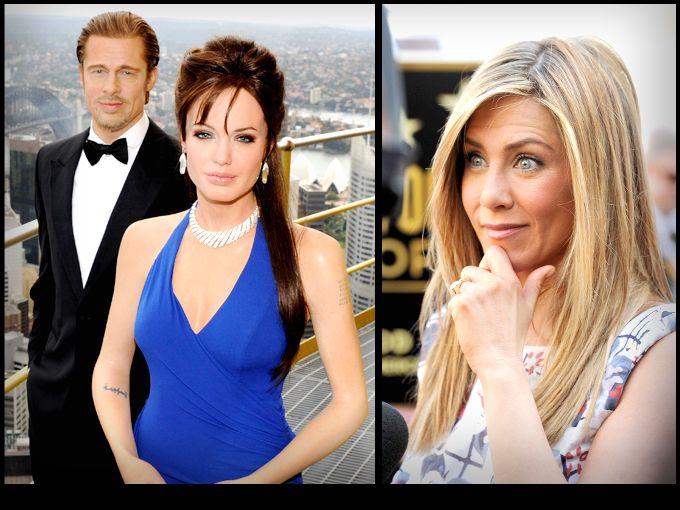 """Después de enterarnos del compromiso entre Angelina Jolie y Brad Pitt todos los ojos voltearon a ver a Jennifer Aniston, la tercera en discordia en esta pareja.  Todos recordamos que Jennifer y Brad eran esposos cuando el guapísimo actor filmó """"Mr. And Ms. Smith"""" con Angelina, película que desató el romance dentro y fuera del set."""