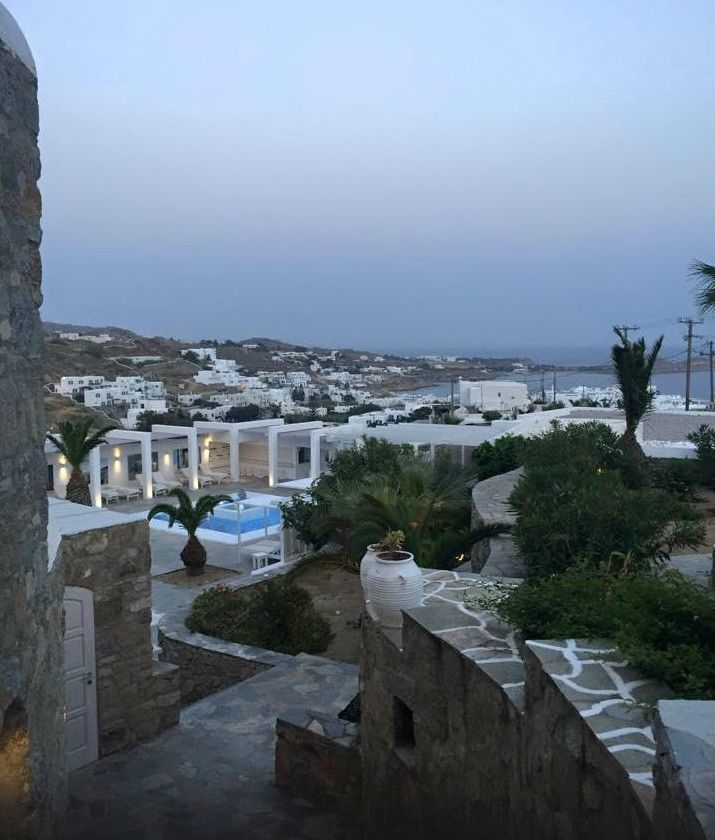 "Magical Platys Gialos views play ""hide& seek"" ambling down cobbled alleys of Palladium Boutique Hotel. Who would you like to share this view with? Photo: An-An K via TripAdvisor"
