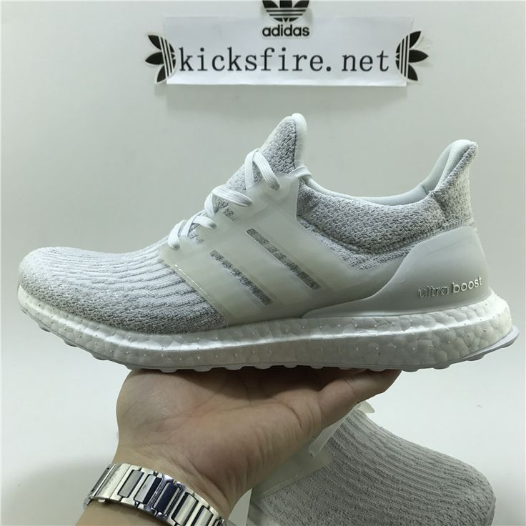Adidas Ultra Boost 3.0 All White BA8841 36-46
