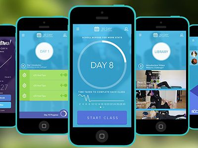 30 Day Abs Challenge by Thomas Bastable