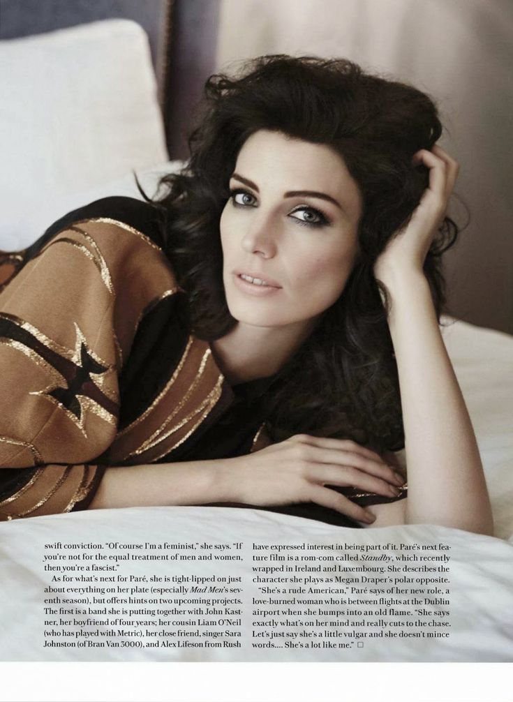 Jessica Pare for Fashion Magazine Canada, March 2014