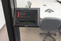 Extron Room Scheduling lets users book a room the easy way
