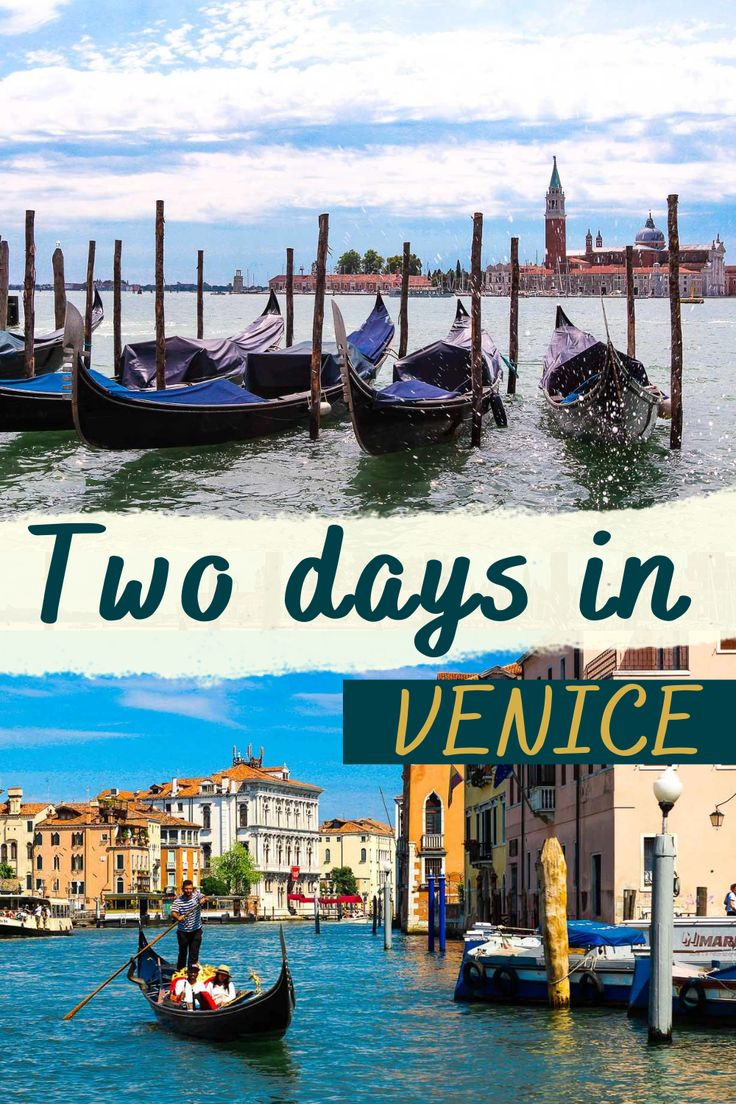 2 days in Venice itinerary