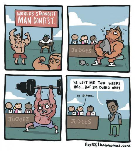 So strong...