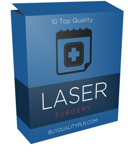 10 Top Quality Laser Surgery Articles - http://www.buyqualityplr.com/plr-store/10-top-quality-laser-surgery-articles/.  #LaserSurgery #LaserEyeSurgery #LaserEyeSurgeon #EyeSurgery #VisionProblems 10 Top Quality Laser Surgery Articles In this PLR Content Pack You'll get 10 Quality Laser Surgery PLR Articles with Private Label Rights to help you dominate the Laser Surgery which is a highly profitable and in-demand....