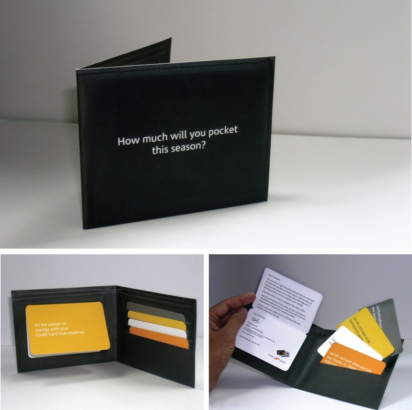THE WALLET THAT SAVED THE DAY by Shoeb Kadri, via Behance
