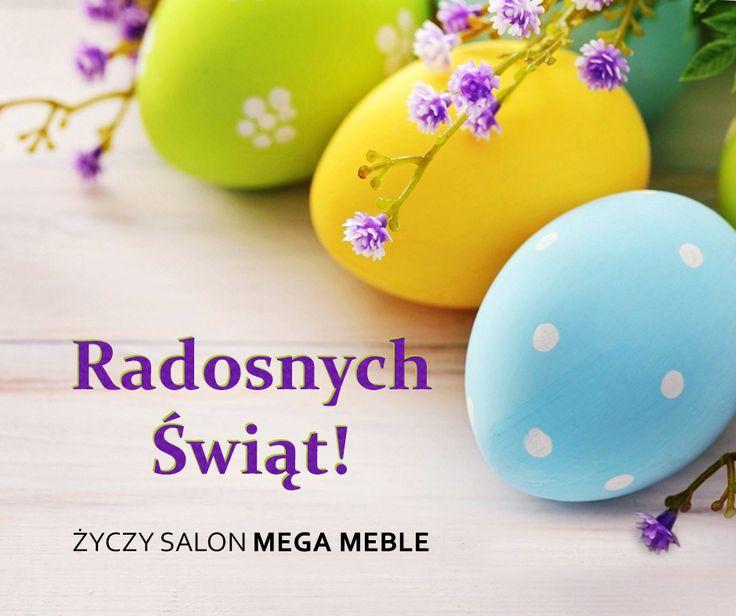 Z okazji zbliżających się Świąt Wielkanocnych życzymy by ten cudowny czas był przepełniony radością i spotkaniami w gronie najbliższych. Wszystkiego dobrego :)
