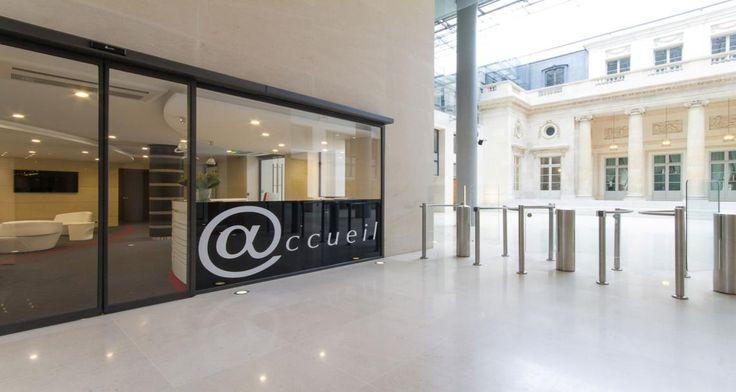 Reception of Free's premises in Paris, France