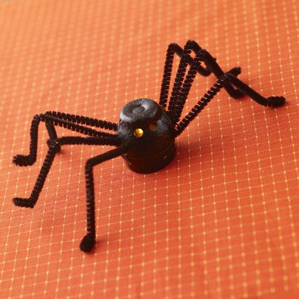 spider craft ideas light up spider decoration craft ideas 2982