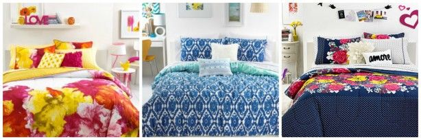 Brighten Your Daughter's Bedroom with the New Seventeen Bedding Sets-Giveaway