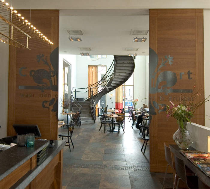 Restaurant Coopvaert Rotterdam by IDNA