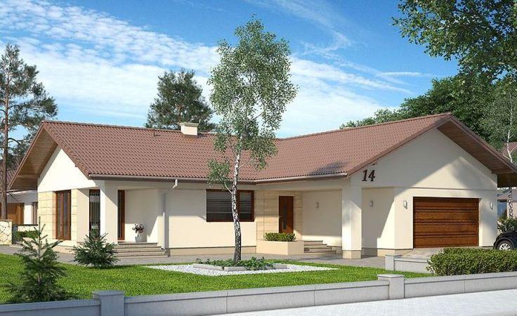 Proiecte de case cu parter si trei dormitoare