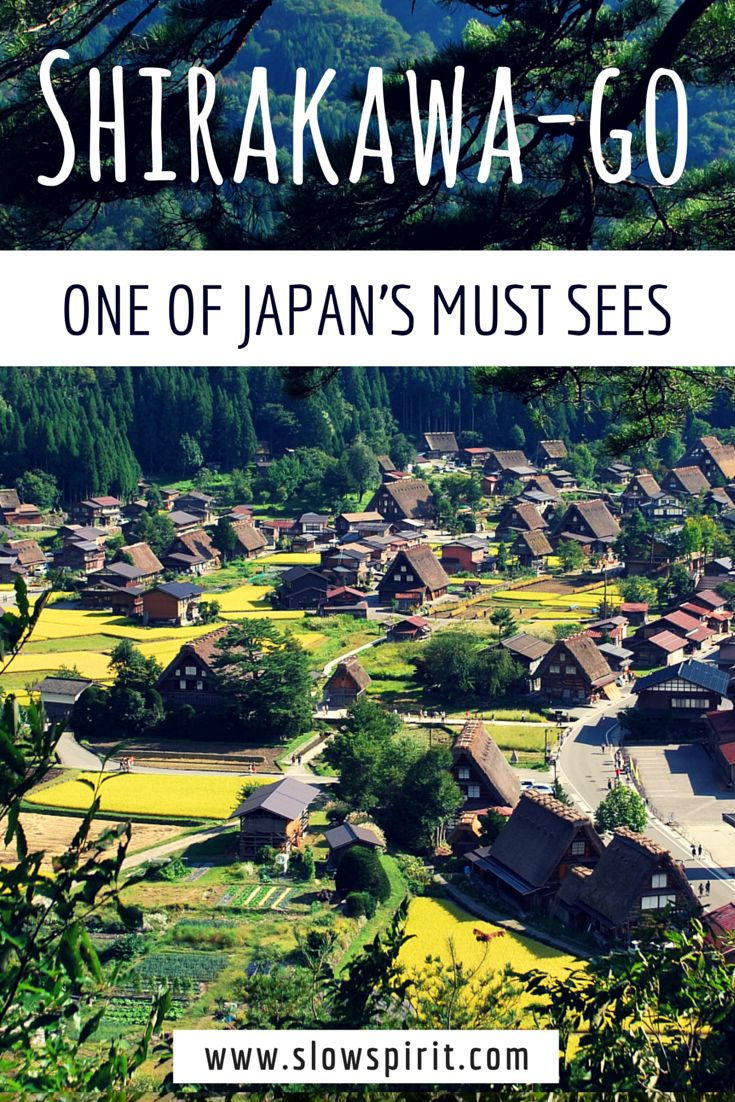 A visit to the fairytale village of Shirakawa-go in Japan.