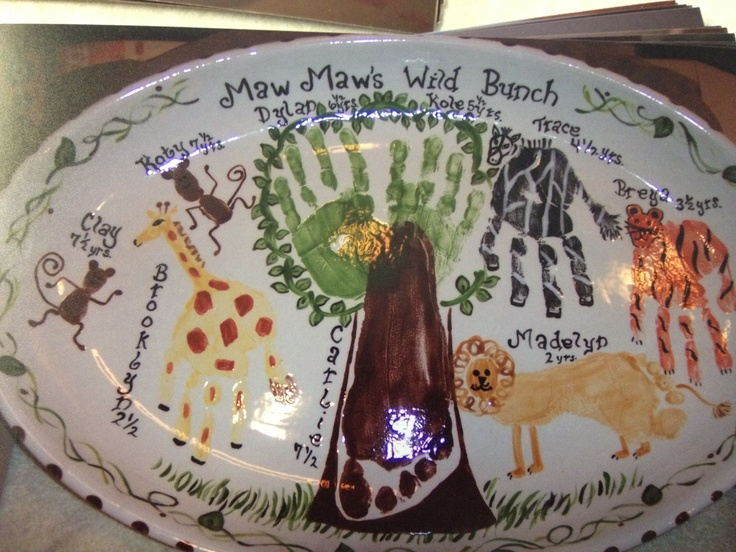 63 best images about handprint pottery ideas on pinterest for Handprint ceramic plate ideas