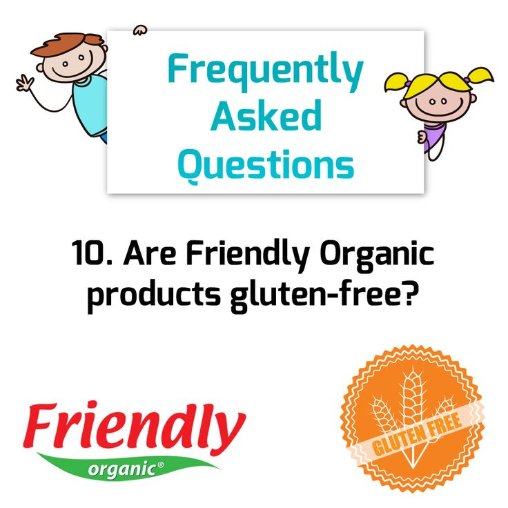 Question: Are Friendly Organic products gluten-free? Answer: All of our products are gluten free!