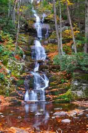 Buttermilk Falls, New Jersey A great hiking trip or fall activity