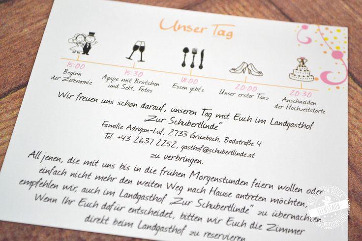 Hochzeitseinladungen Texte, Textvorlagen, Textbausteine | feenstaub.at | Einladung hochzeit text