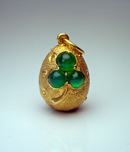 458 best eggs pendants images on pinterest faberge eggs egg art an antique russian miniature egg pendant made in st petersburg between 1899 and 1904 aloadofball Images