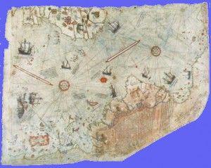 piri reis map antarctica ice free