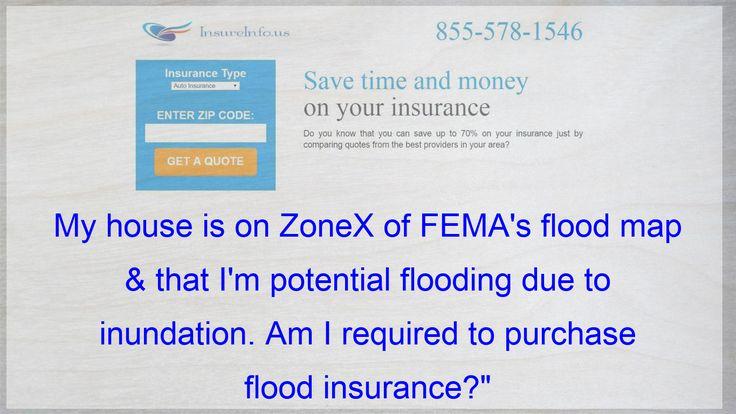 My house is on zonex of femas flood map that im