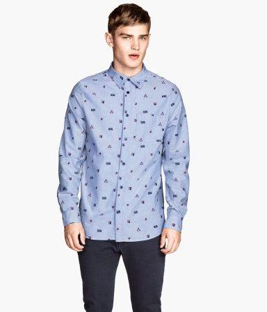 overhemd voor blokjes illustratie mannen