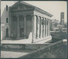 Italia, Roma. Tempio della Fortuna Virile, ca. 1905  vintage silver print…