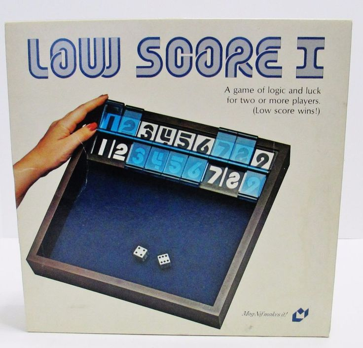 Low Score I - Vintage 1979 Dice Board Game A Game of Logic & Luck - Made in USA #MagNif ..... Visit all of our online locations ..... (www.stores.eBay.com/variety-on-a-budget) ..... (www.amazon.com/shops/Variety-on-a-Budget) ..... (www.etsy.com/shop/VarietyonaBudget) ..... (www.bonanza.com/booths/VarietyonaBudget ) .....(www.facebook.com/VarietyonaBudgetOnlineShopping)