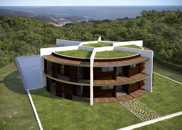 Architect Designs a Soccer Ball-Shaped House for Famous Footballer Lionel Messi…