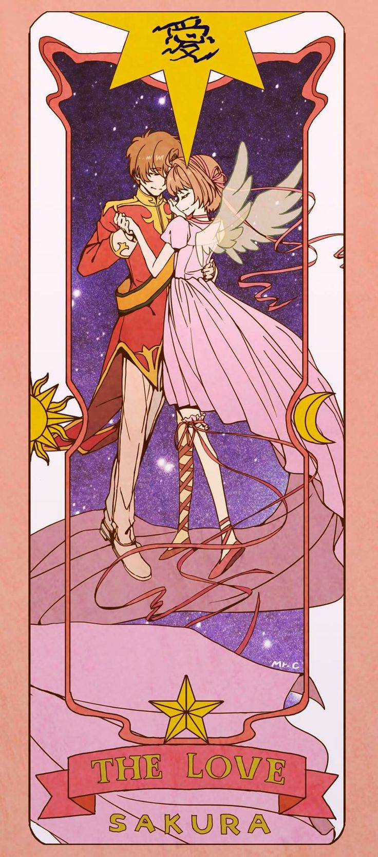 Sakura cart captor - Love card - This anime is one of my favorites, forever CLAMP