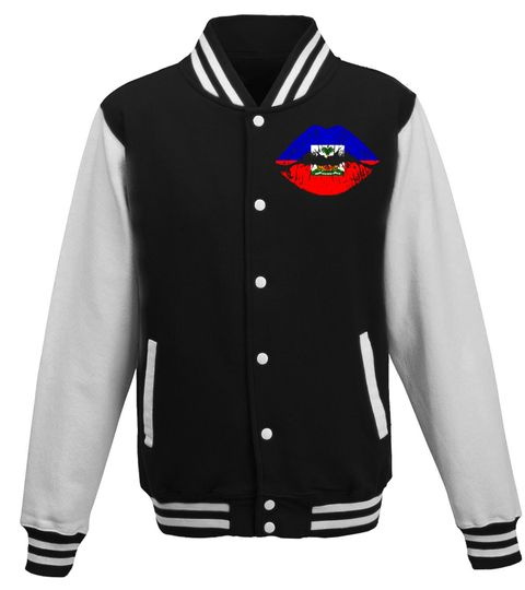 Haiti flag kiss funny gifts Tshirts baseball shirt jerseys for men,