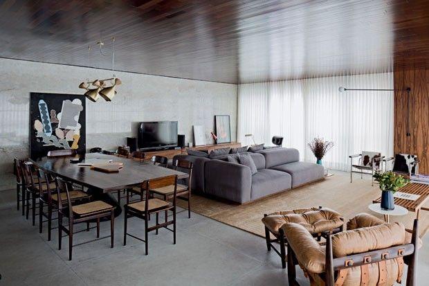 Reforma de apartamento modernista em Belo Horizonte
