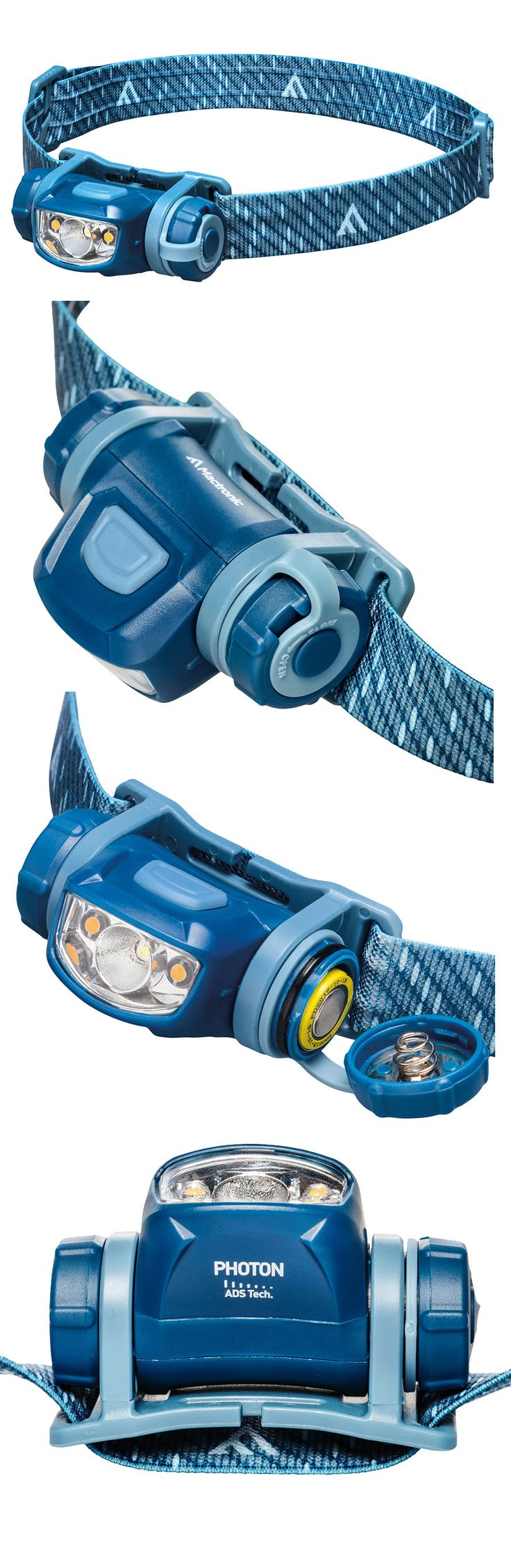 "The phenomenal PHOTON headlamp is light years ahead for compactness and performance. Its small size hosts giant features, including dual diodes for both a 90 lm spot beam and an anti-glare warm LED, Switch-Lock function to prevent battery drain and our ""Advanced Dimming System"" (ADS) for smooth brightness control. Powered by a single AA battery, the water resistant and shock proof Photon is fabulous. mactronic.pl"