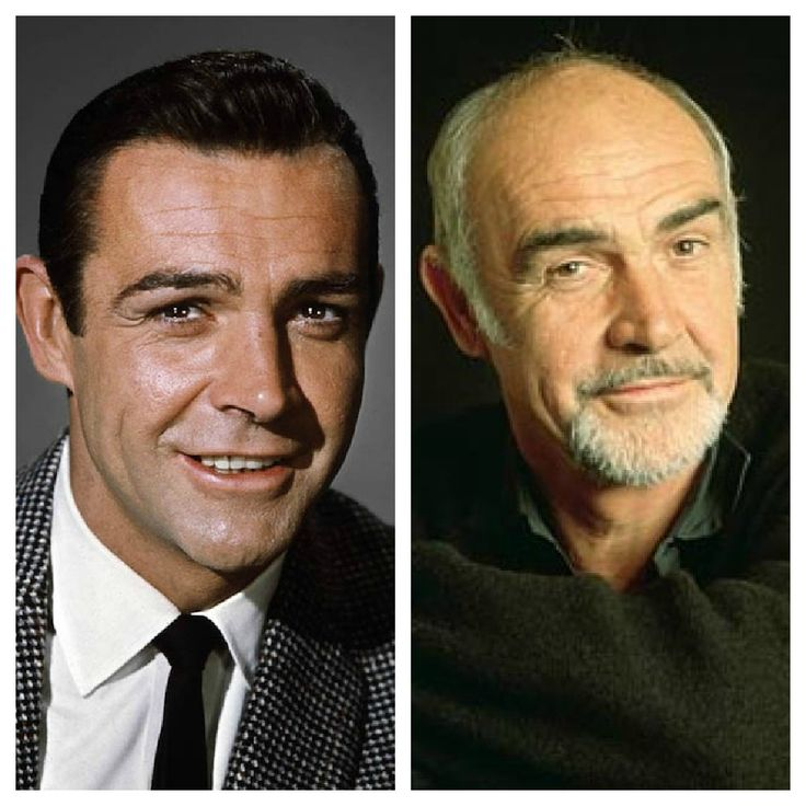 Sean Connery ~ Then and Now ~ Some people are fortunate in aging very well and he is a fine example, yes he is!  He could read a phone book & I would be entranced.