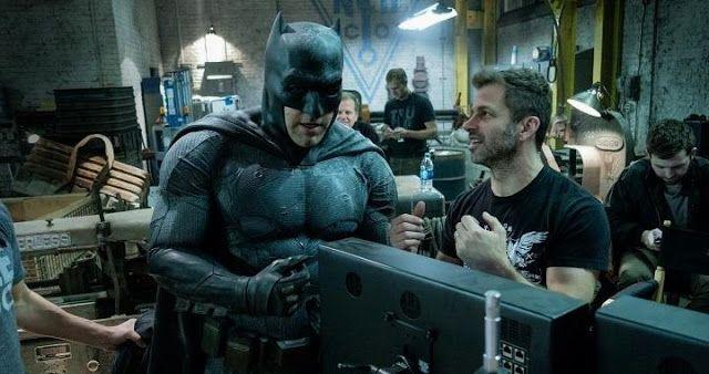 Zack Snyder  finalizó hace poco el rodaje de Justice League , y esta semana a través de Vero , ha p...