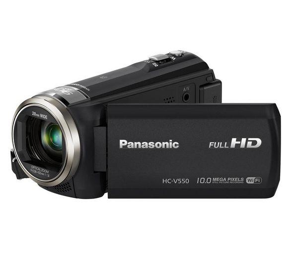 PANASONIC - HC-V550 - nero - Videocamera