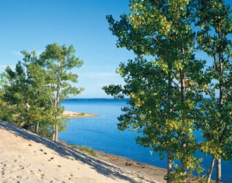 Sandbanks Provincial Park - Anyone who has camped in this park knows why it's one of the best!  The scenery is amazing not to mention the long sandy beaches!