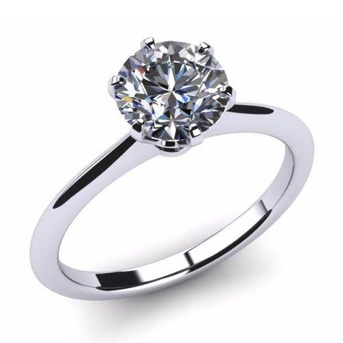 Diamantring weißgold günstig  Die 25+ besten Solitär verlobung Ideen auf Pinterest | Diamant ...