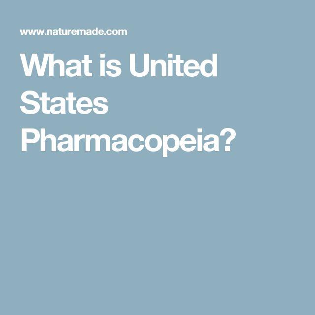 What is United States Pharmacopeia?