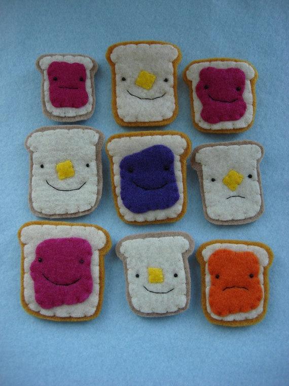 Felt Sandwich #sewing #cute #diy