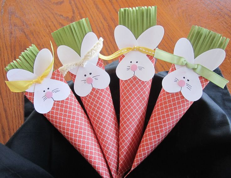 Stampin' Up! Sour Cream Containers Carrots Rabbits Punch Art Fringe Scissors http://www.kimplayswithpaper.com/2/post/2014/03/are-these-cute-or-what.html