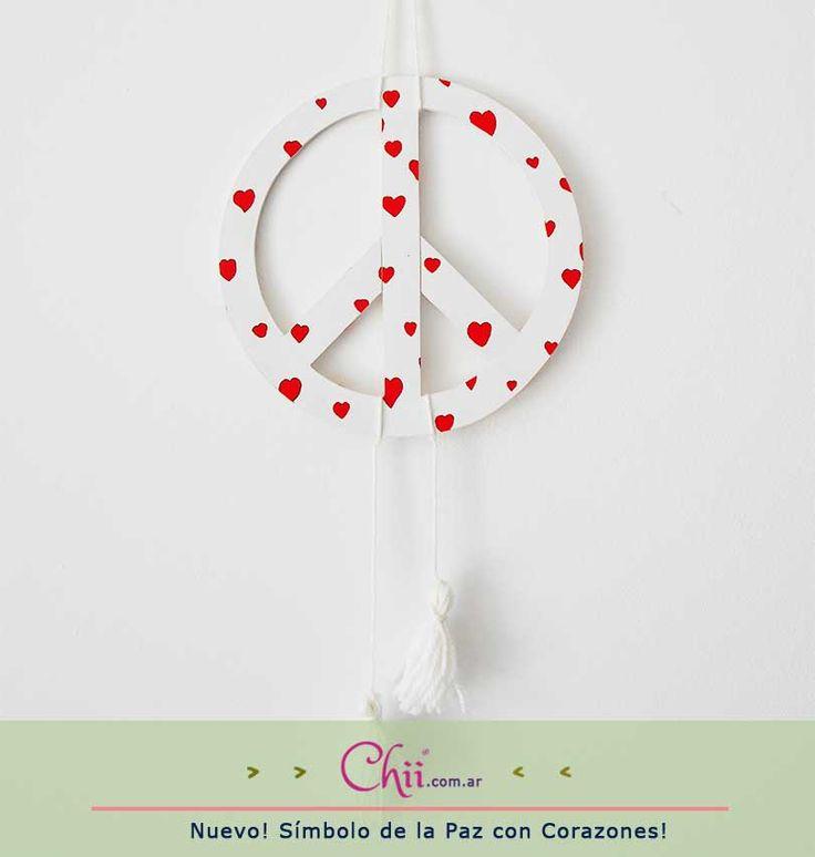 Llenate de corazones en http://chii.com.ar/ con este móvil especial de #SanValentín! Descubrí nuestras promos en la web! :)