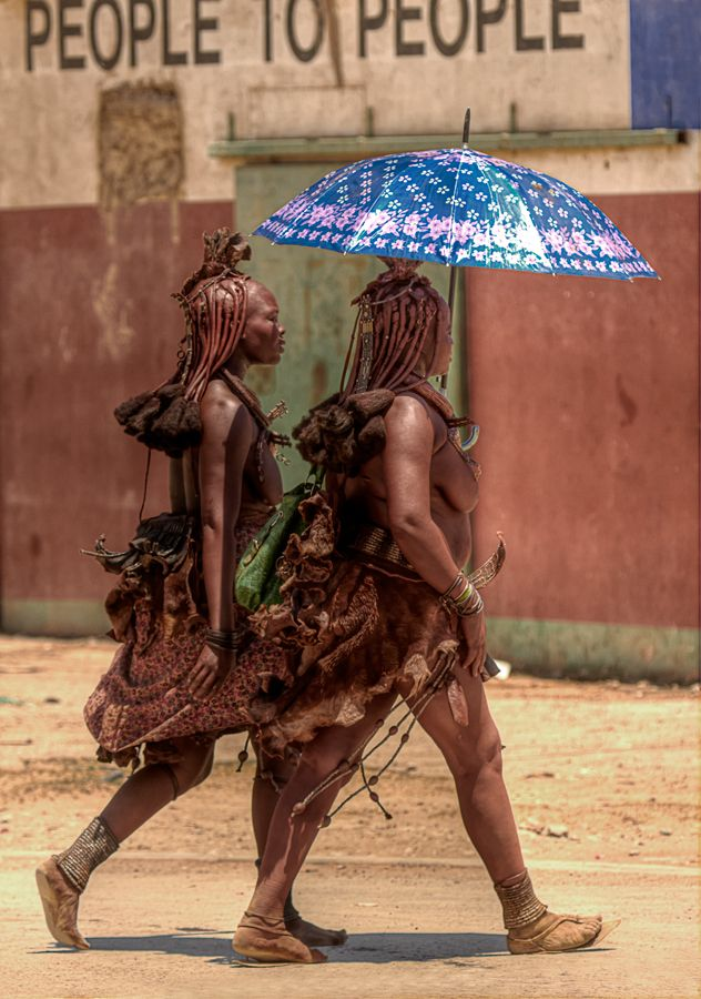 "Africa | ""People to People""  Himba women, Nambia 