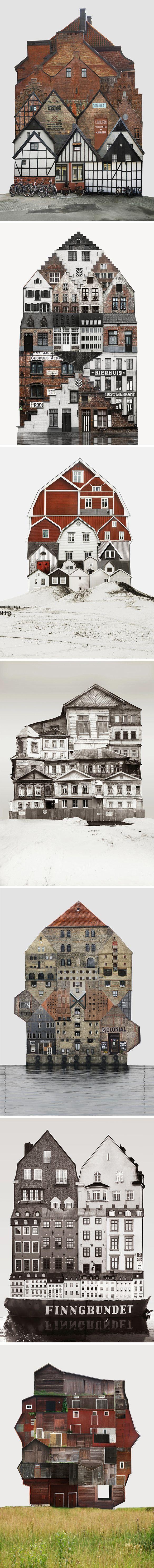 Anastasia Savinova #collage #architecture