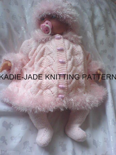 No 31 KADIE-JADE KNITTING PATTERN