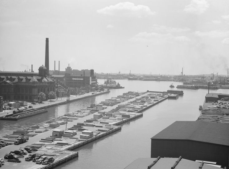 Baltimore Waterfront in 1938