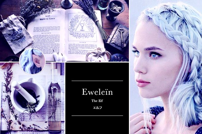 — Eldarya Aesthetic | Character : Eweleïn Another...
