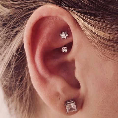 About a year ago now, I decided to pierce my ear with a not-so-typical piercing known as the rook piercing.